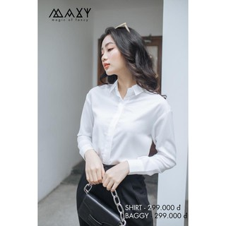 ÁO WHITE BASIC SHIRT