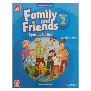 Sách - Family And Friends (Ame. Engligh) (Special Ed.) Grade 2: Student Book - 9780194801720