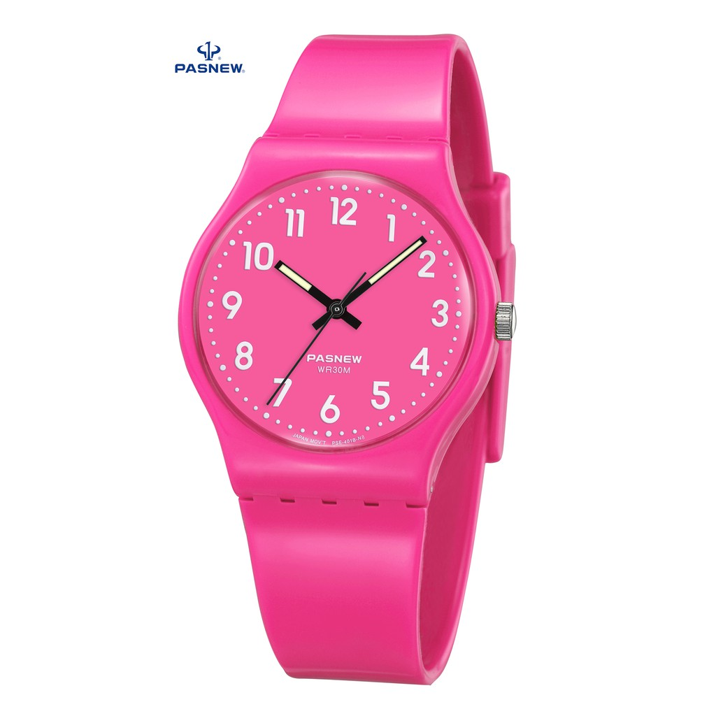 Đồng hồ unisex Pasnew 401B Hồng
