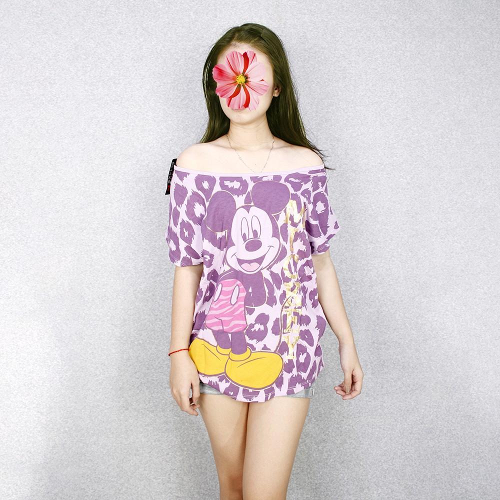 Thời Trang Nữ, áo thun nữ hình chuột, GH2721 - 2