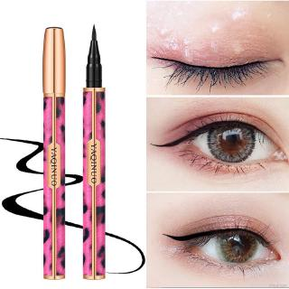 YAQINUO Pink Leopard Eyeliner Waterproof Quick Drying Eyeliner