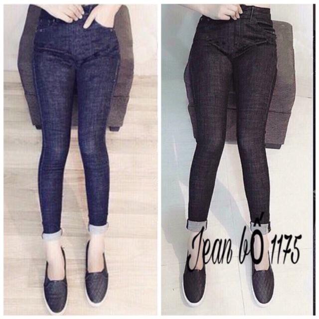 Nhập WAMS8 giảm 15%_ Combo 2 quần jean skinny đốm