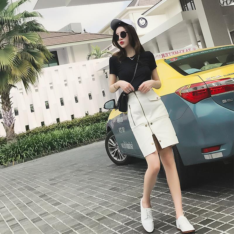 Chân váy dài chất liệu ni lông đủ size phù hợp 18-25 tuổi