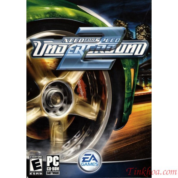 Đĩa game máy tính NEED FOR SPEED UNDERGROUND 2(PC)-GC260