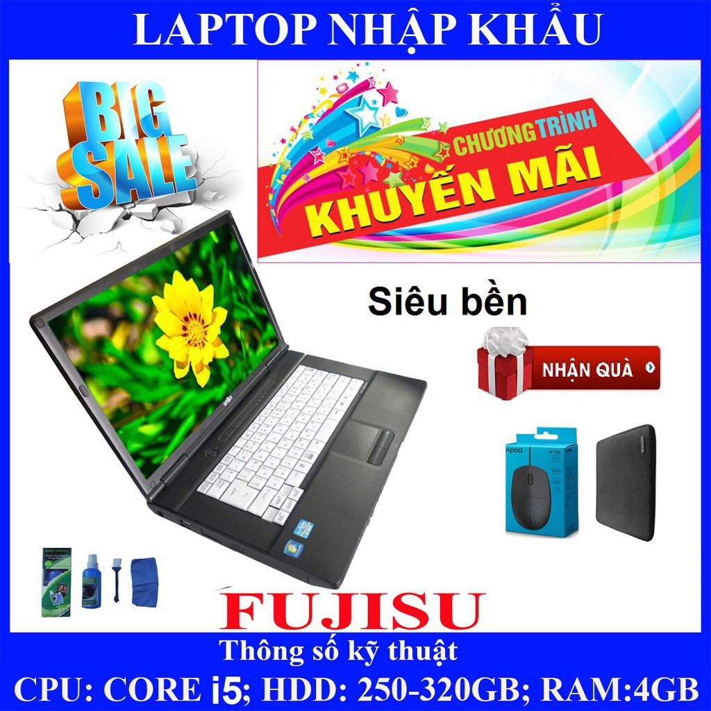 Laptop chơi game fifa 4, pubg mobile,  Core i5, RAM 4G, 250gb #2