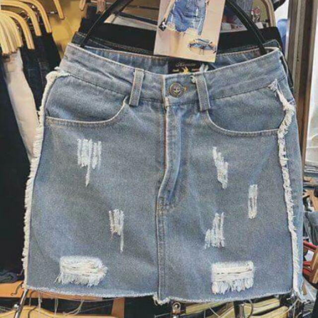 Quần Jean giả váy