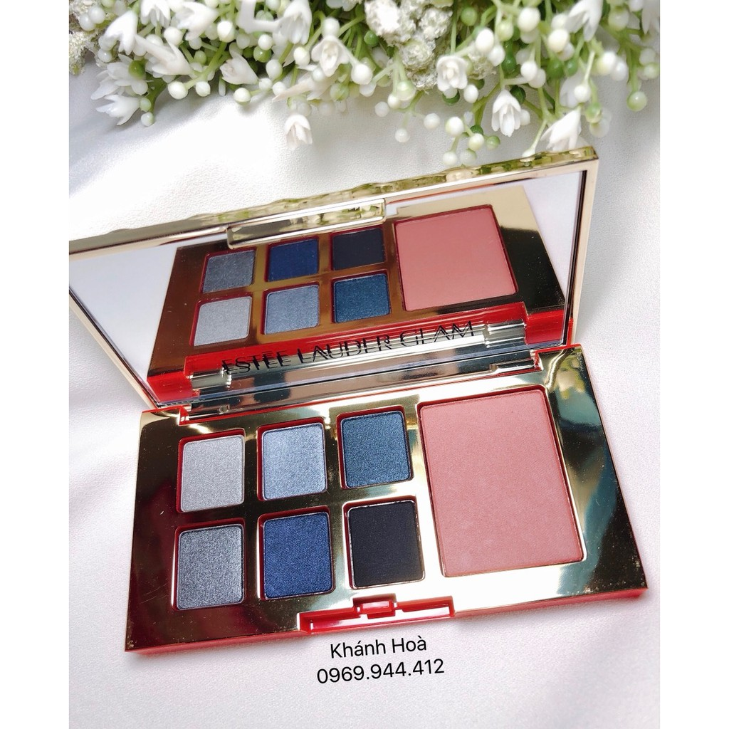 [Bill Us] Bảng mắt má Estee Lauder Pure Color Envy Eye and Check palette màu Glam
