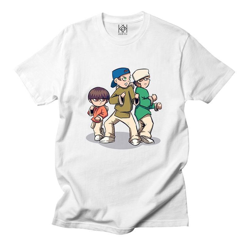 Áo thun hoạt hình in hình hip hop cực đẹp , áo thun unisex nam nữ - Thiết kế độc quyền KAK