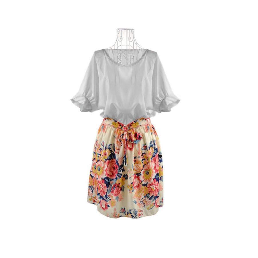 Đầm hoa tiểu thư - 25103JS