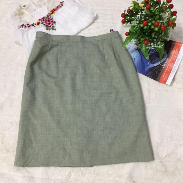 Chân váy Japan màu xanh ngọt