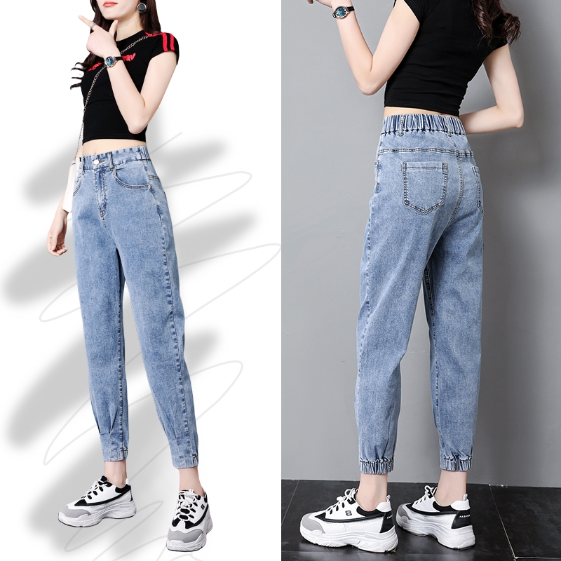 Quần Jean Nữ Lưng Cao Thời Trang Hàn Quốc 2020