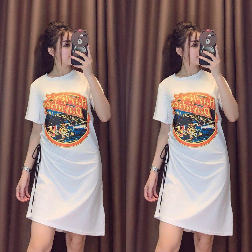 Đầm dáng suông - váy suông - đầm suông sát nách nhún xòe 3 tầng giá rẻ - Đầm giá rẻ