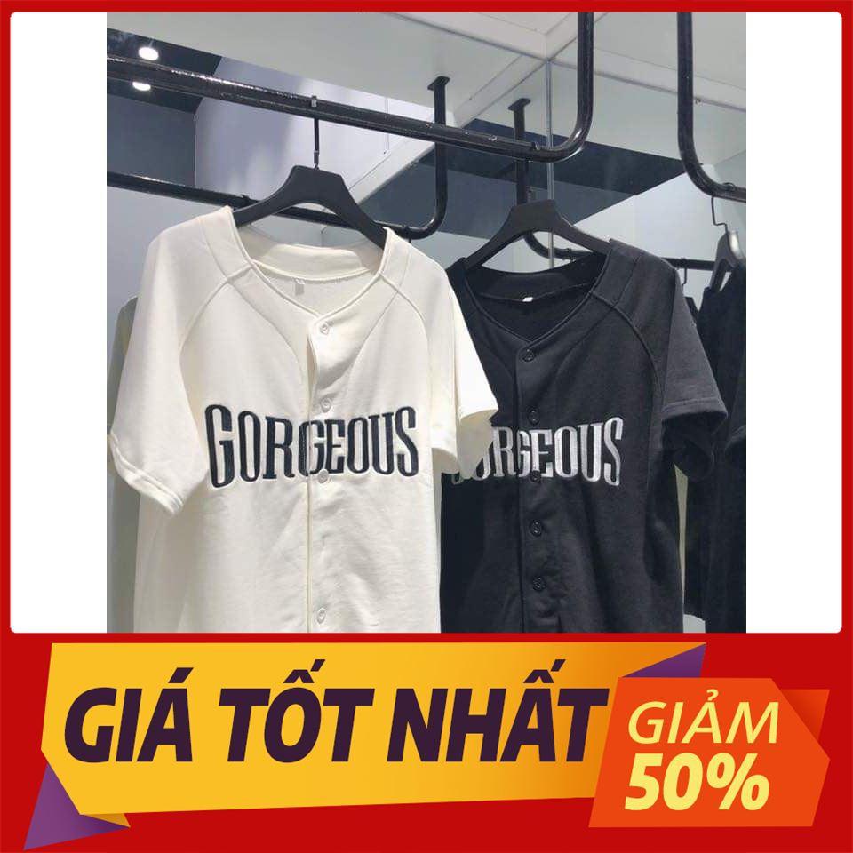 [KHUYẾN MẠI 50%] BASEBALL SHIRT UNISEX (ĐEN/TRẮNG/HỒNG) , áo thun tay lỡ, quần kaki