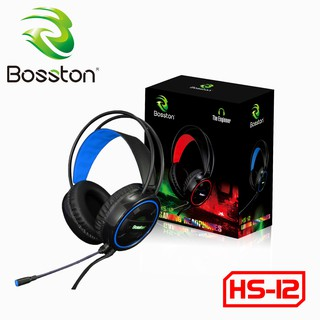 Headphone Bosston HS12 LED Rainbow Gaming