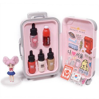 Set Vali Ink son mini Suit Case Collection Peripera Cosmetics