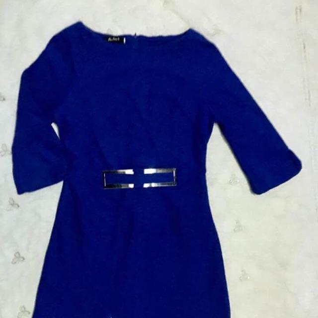 Váy dạ xanh