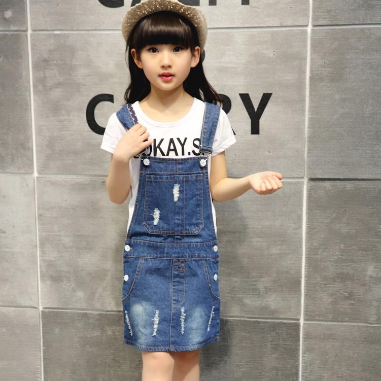 Set Áo Thun Tay Ngắn + Chân Váy Denim Thời Trang Cho Nữ