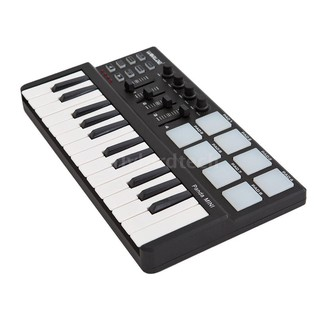 Worlde Panda mini Portable Mini 25-Key USB Keyboard and Drum Pad MIDI Controller welcome to my shop !!!  Features: 25 ve