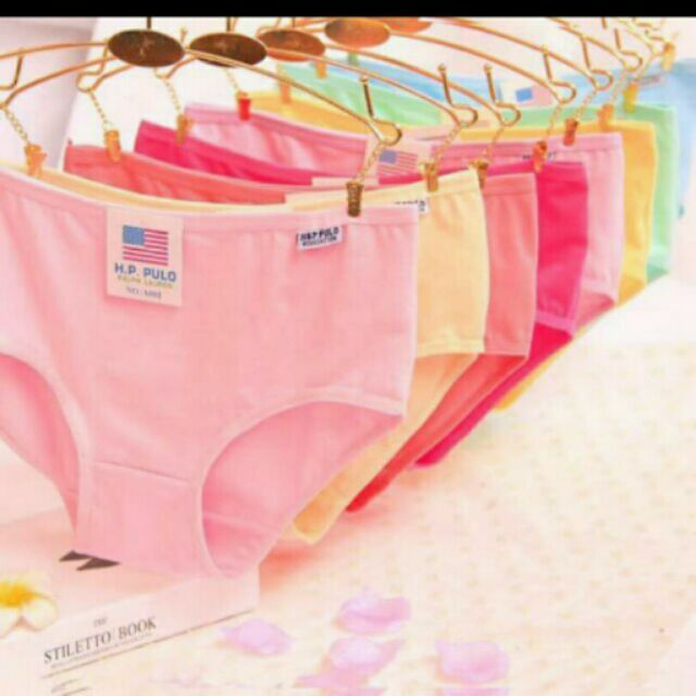 Set 5 quần lót nữ