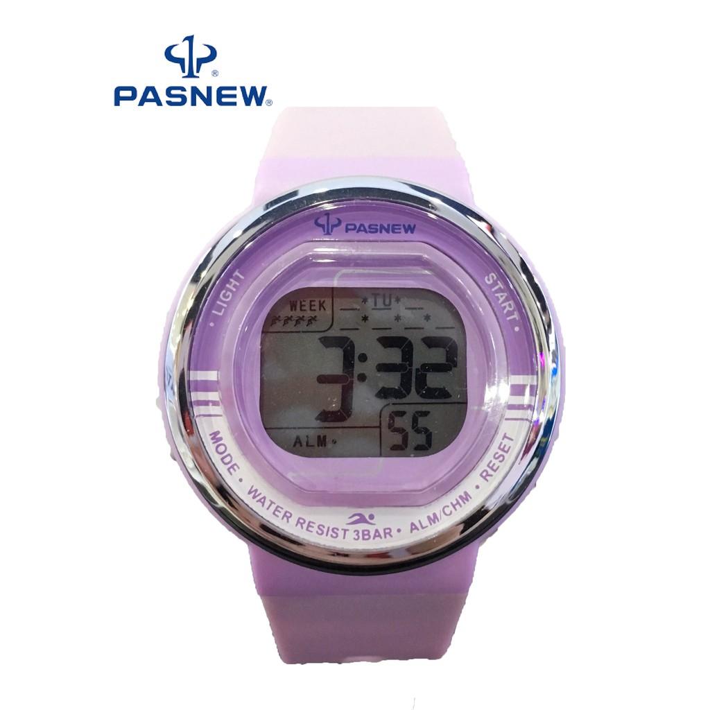 Đồng hồ unisex 346 Tím