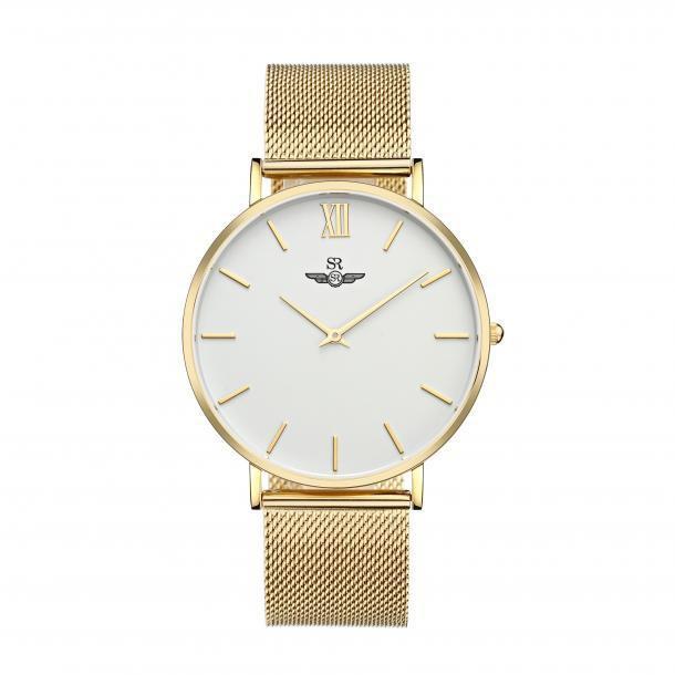 [Mã WTCHMALLTET hoàn 100k xu đơn 499K] Đồng hồ nam Sunrise CHÍNH HÃNG SG1085