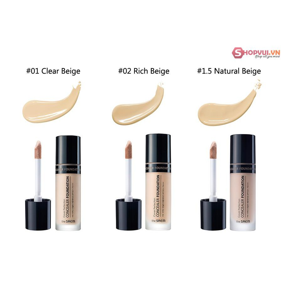 Hình ảnh the SAEM Cover Perfection TIP CONCEALER SPF28/PA++