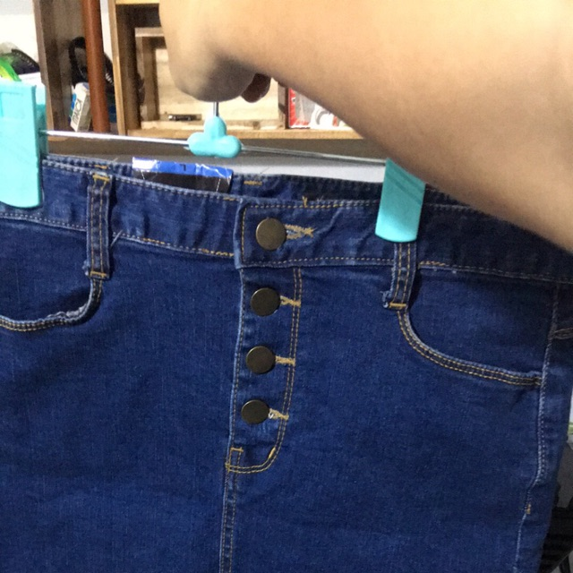 Đầm jean lẻ size M