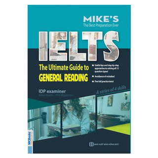 Sách - IELTS The Untimate Guide To General Reading (Trong Bộ Bí Kíp Tự Học IELTS 9.0)