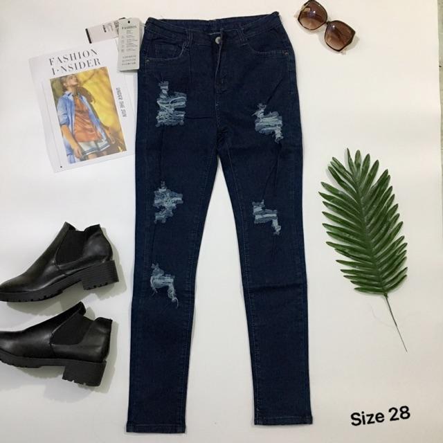 Quần jean dài mã 2
