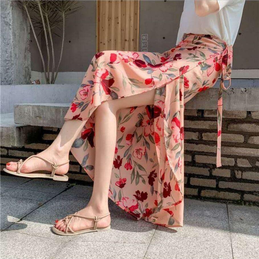 Chân Váy Voan Thời Trang Xinh Xắn Cho Nữ 2020