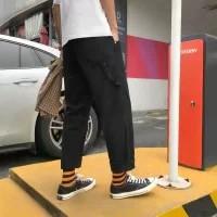 Quần Jeans Nam Ống Rộng Phong Cách Thời Trang Hong Kong
