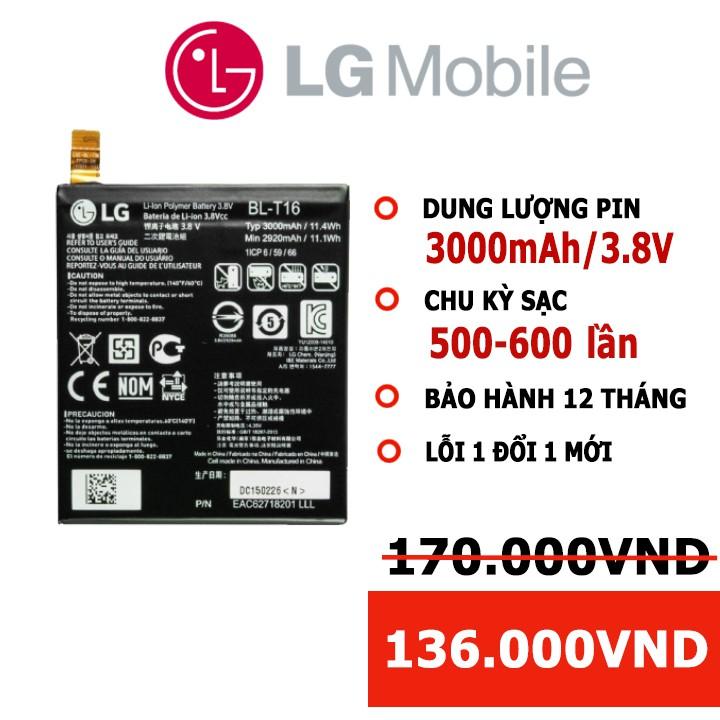 [Dùng Thử 7 Ngày] Pin LG G Flex 2/ H950/ H955/ H959/ LS 996/ BL-T16 BH 12 THÁNG