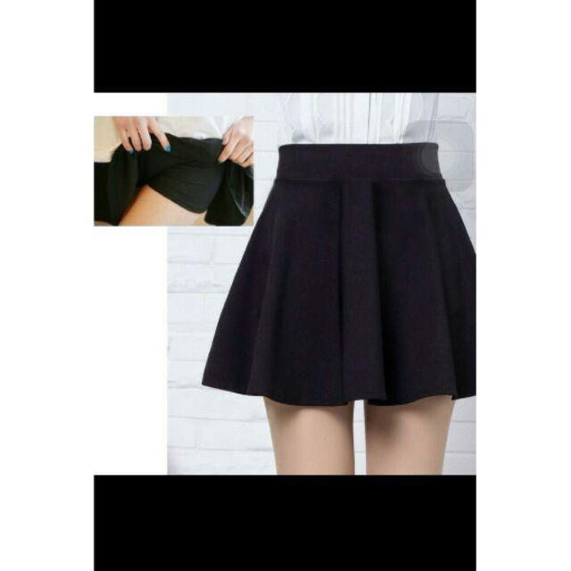 Chân váy kèm quần bên trong