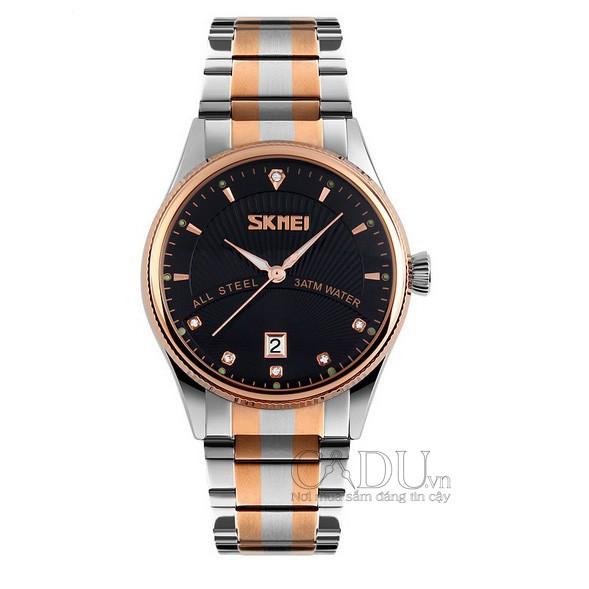 [Mã WTCHJAN giảm 20K ] Đồng hồ Skmei classic ấn tượng, thanh lịch