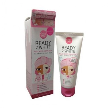 Mặt nạ ủ trắng da Ready 2 White Milky White Cream Pack 100ml (new package)