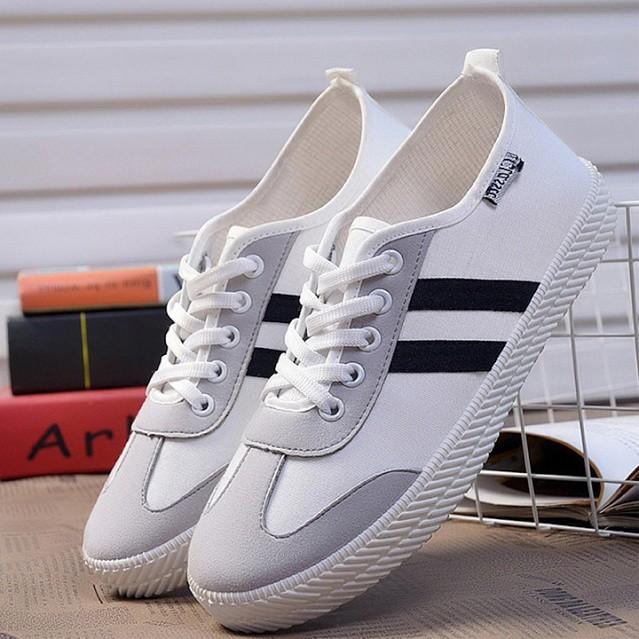 Giày Sneaker Nữ Thời Trang SP2351 (Trắng)