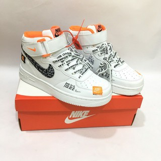 [FullBox &FreeShip] GIÀY THỂ THAO NIKESS AIR FOCE 1 JUST DO IT WHITE(36-44) HOT HOT HIT