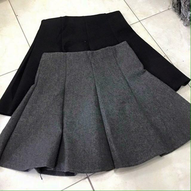 Chân váy dạ xịn kèm quần
