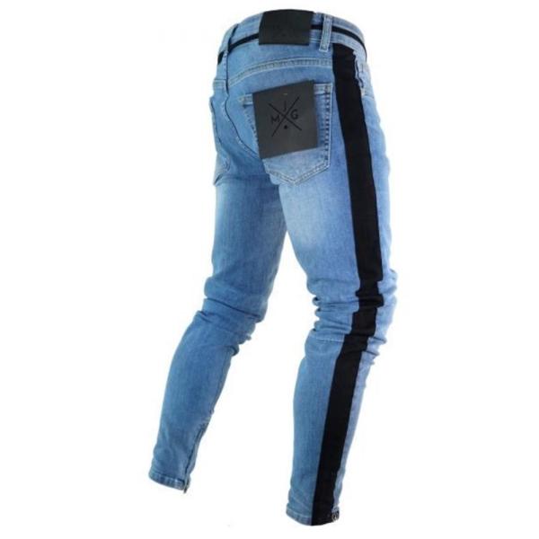 Quần jeans phối khoá kéo hợp thời trang