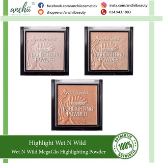 Phấn Highlights Wet n Wild - Megaglo Highlighting Powder