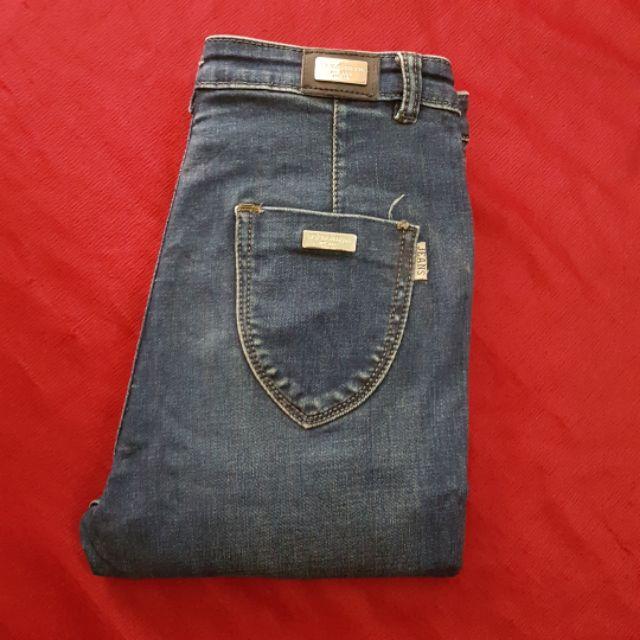 Quần jean lưng cao thanh lý