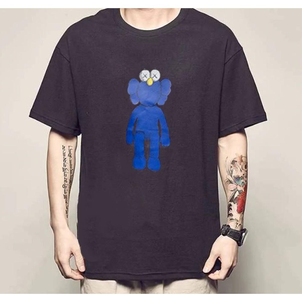 áo thun, áo phông unisex cotton cao cấp hoạt hình kawss siêu hot  Form chuẩn Mỹ, dáng slim fit cực chuẩn freeship