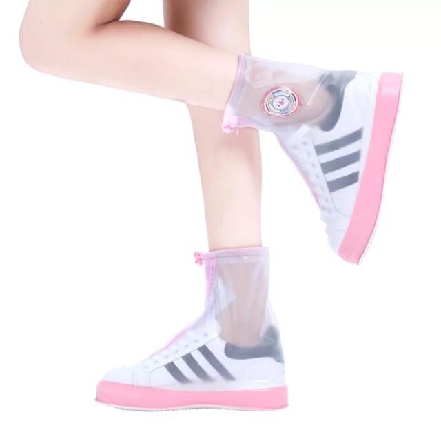 Bọc giày đi mưa tiện lợi đế cao su