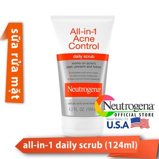 Sữa Rửa Mặt All in 1 Neutrogena Control (125ml) _ NTG002SRM