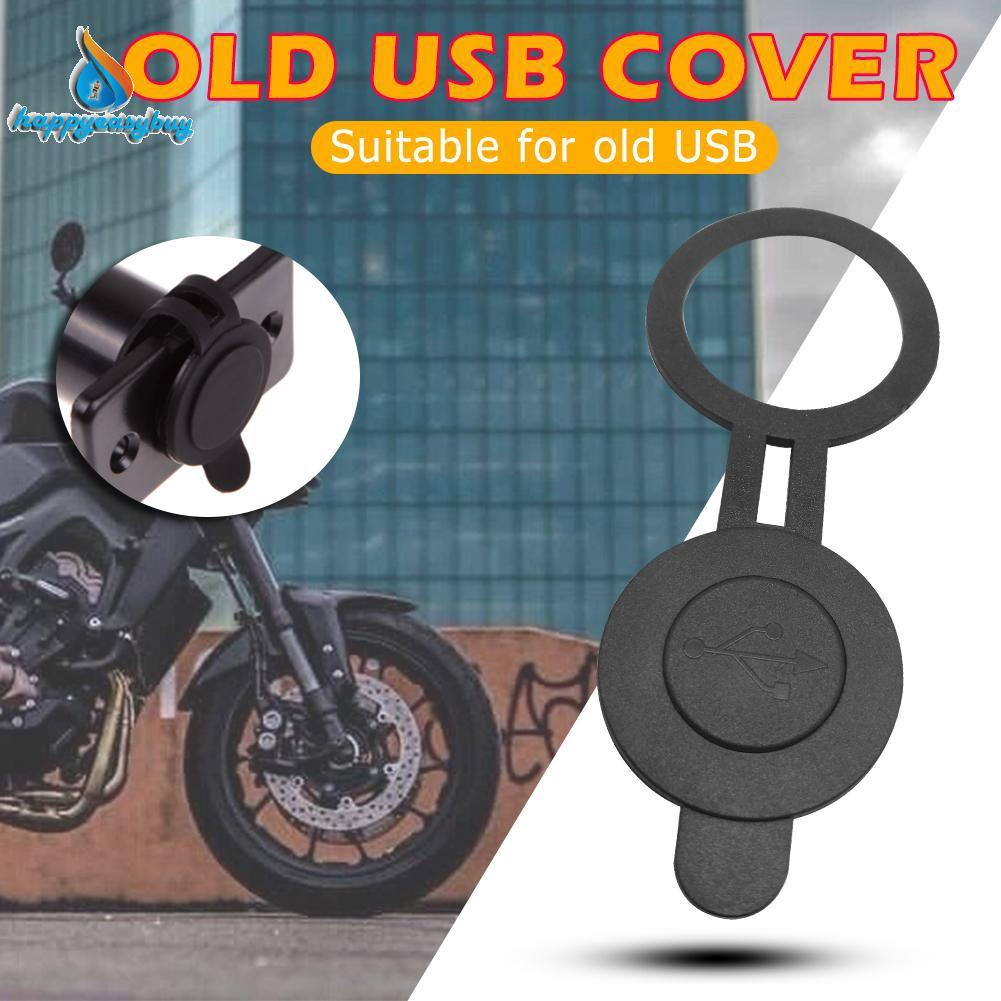 NEW arrival 30mm Dia Round Waterproof Dust Cover for Dual USB Car Motorcycle Charger