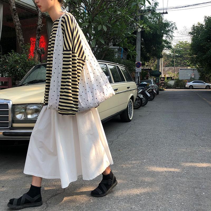 Chân Váy Chữ A Lưng Cao Phong Cách Hàn Quốc Cho Nữ