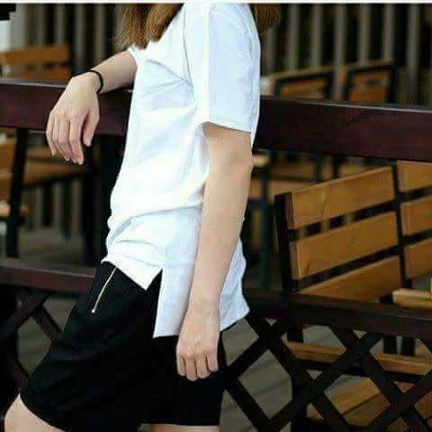 Áo longtee - zipper nữ thời trang