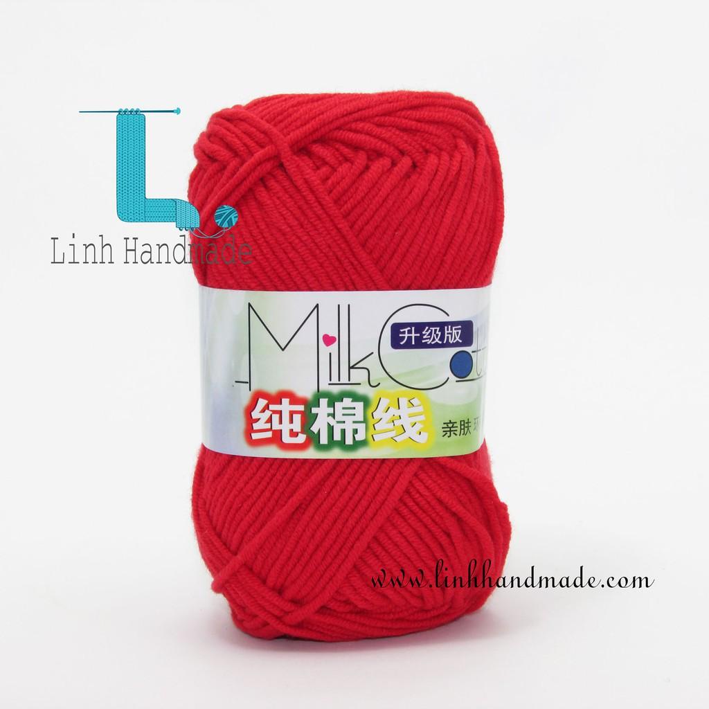 Cuộn Len Cotton Milk 50gr 9