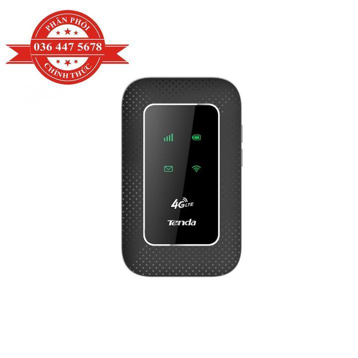 [Mã ELCLXU8 hoàn 8% xu đơn 500K] Thiết bị phát WIFI 3G/4G Di Động 4G Tenda 4G180 - Hàng Chính Hãng