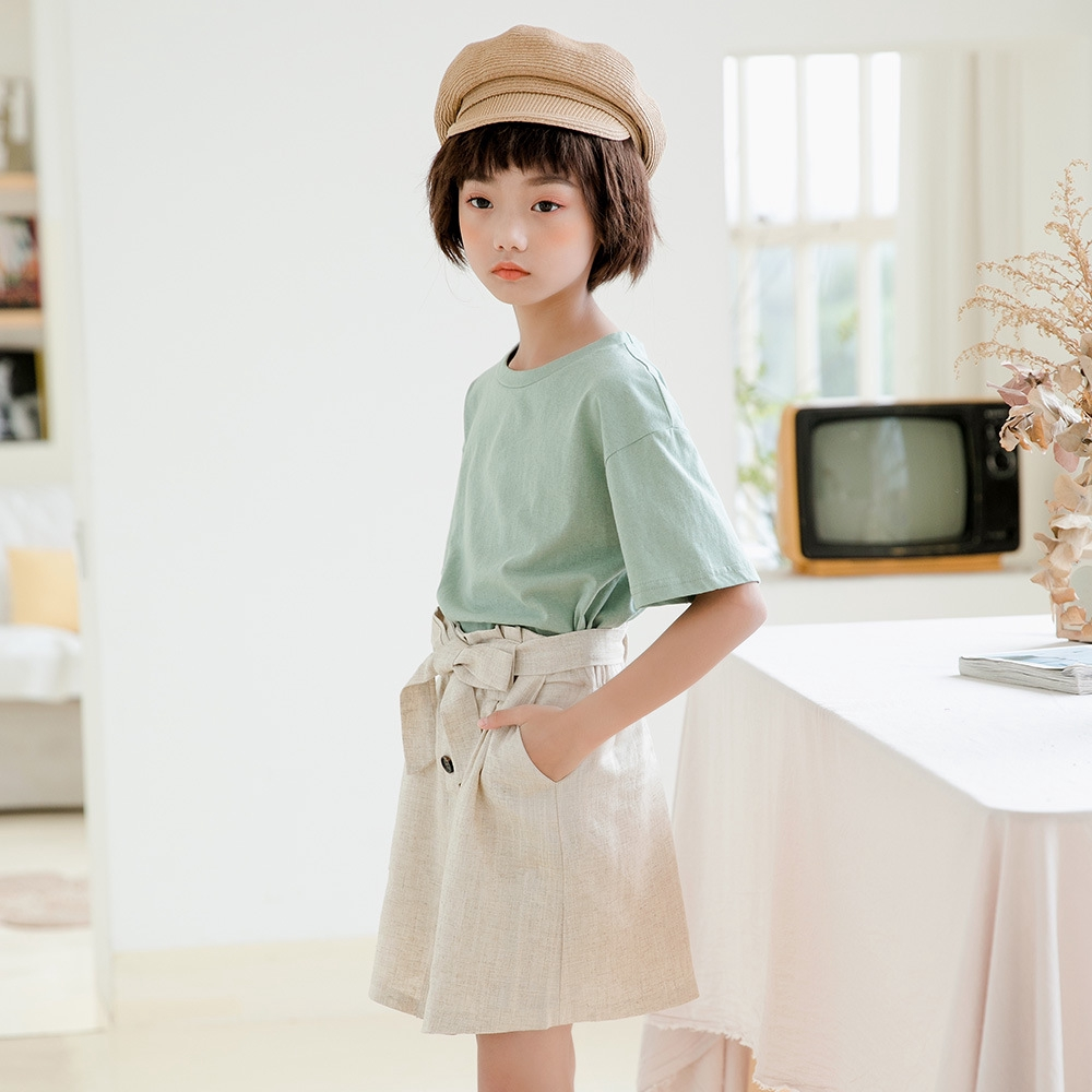 Chân Váy Công Chúa Vải Cotton Kiểu Hàn Quốc Xinh Xắn Cho Bé Gái